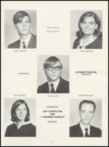 1971 Red Oak High School Yearbook Page 30 & 31