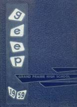 1959 Yearbook Grand Prairie High School