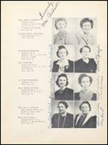 1943 Clyde High School Yearbook Page 16 & 17