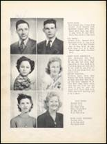 1943 Clyde High School Yearbook Page 20 & 21