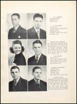 1943 Clyde High School Yearbook Page 24 & 25