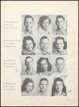 1943 Clyde High School Yearbook Page 36 & 37