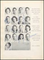 1943 Clyde High School Yearbook Page 40 & 41