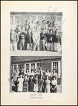 1943 Clyde High School Yearbook Page 56 & 57