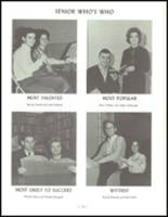 1964 Sidney High School Yearbook Page 142 & 143