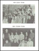 1964 Sidney High School Yearbook Page 238 & 239