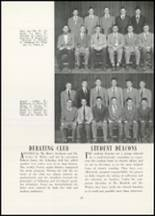1951 Mt. Hermon School Yearbook Page 52 & 53