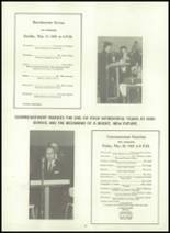 1965 Wyoming Community High School Yearbook Page 28 & 29