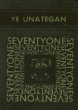 1971 Yearbook Unatego High School