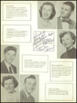 1956 Greenwich Central High School Yearbook Page 34 & 35