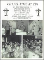 1997 Calvary Baptist School Yearbook Page 10 & 11
