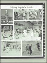 1997 Calvary Baptist School Yearbook Page 42 & 43