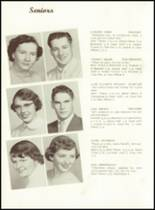 1956 West Bend High School Yearbook Page 14 & 15