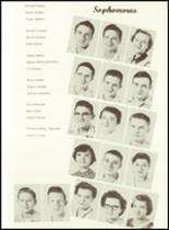 1956 West Bend High School Yearbook Page 24 & 25