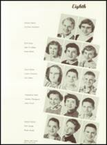 1956 West Bend High School Yearbook Page 28 & 29