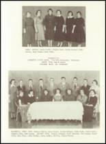 1956 West Bend High School Yearbook Page 52 & 53
