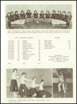 1956 West Bend High School Yearbook Page 58 & 59