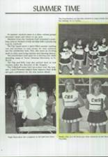 1986 Clyde High School Yearbook Page 10 & 11