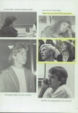 1986 Clyde High School Yearbook Page 14 & 15