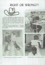 1986 Clyde High School Yearbook Page 24 & 25