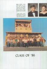 1986 Clyde High School Yearbook Page 44 & 45