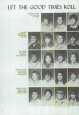 1986 Clyde High School Yearbook Page 48 & 49
