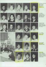 1986 Clyde High School Yearbook Page 50 & 51