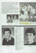 1986 Clyde High School Yearbook Page 52 & 53