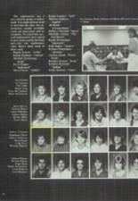 1986 Clyde High School Yearbook Page 56 & 57