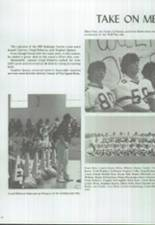 1986 Clyde High School Yearbook Page 82 & 83