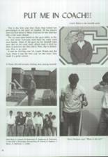 1986 Clyde High School Yearbook Page 108 & 109