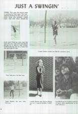 1986 Clyde High School Yearbook Page 110 & 111
