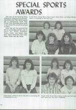 1986 Clyde High School Yearbook Page 112 & 113