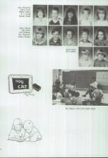 1986 Clyde High School Yearbook Page 166 & 167