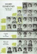 1986 Clyde High School Yearbook Page 170 & 171