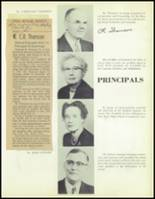1957 Waite High School Yearbook Page 10 & 11