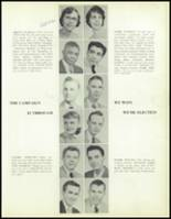 1957 Waite High School Yearbook Page 20 & 21
