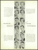 1957 Waite High School Yearbook Page 22 & 23