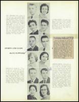 1957 Waite High School Yearbook Page 28 & 29