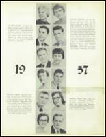 1957 Waite High School Yearbook Page 34 & 35