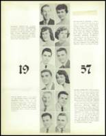 1957 Waite High School Yearbook Page 36 & 37