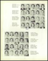 1957 Waite High School Yearbook Page 56 & 57