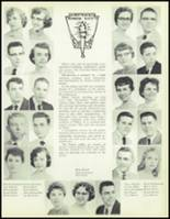 1957 Waite High School Yearbook Page 86 & 87