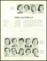 1957 Waite High School Yearbook Page 88 & 89