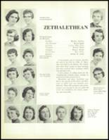 1957 Waite High School Yearbook Page 96 & 97