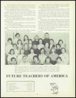 1957 Waite High School Yearbook Page 112 & 113