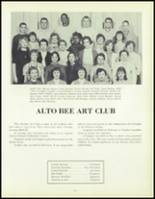 1957 Waite High School Yearbook Page 114 & 115