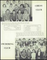 1957 Waite High School Yearbook Page 116 & 117
