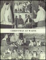 1957 Waite High School Yearbook Page 148 & 149