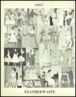 1957 Waite High School Yearbook Page 152 & 153